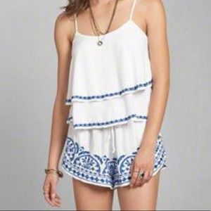 Abercrombie & Fitch Tops - Abercrombie Embroidered Tank